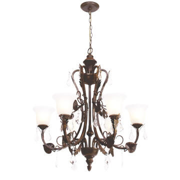 Chandelier Ch5035/6 Br/Gd
