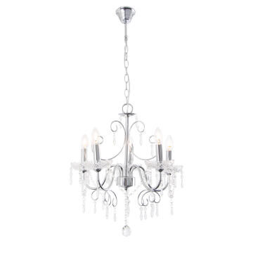 Chandelier Ch388/5 Chrome