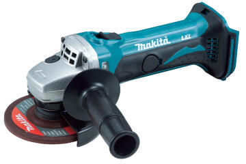 Grinder cordless MAKITA DGA452ZK 18V LXT 115mm bare