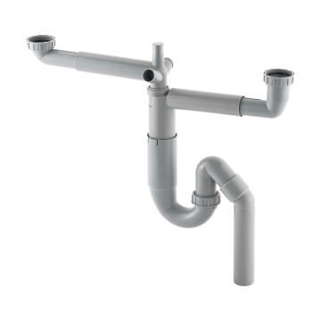 Kitchen Siphon 2 Sink