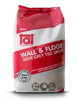 Tile Grout TAL Dove Grey 2kg