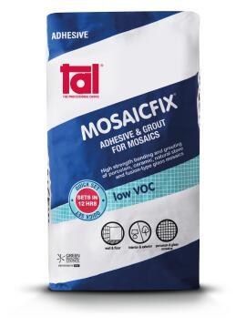 Mosaic Adhesive TAL Mosaicfix Super White 20kg