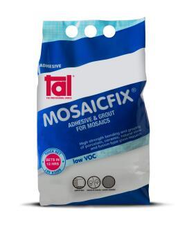 Mosaic Adhesive TAL Mosaicfix Super White 5kg