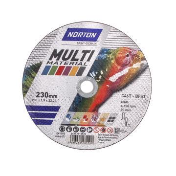 Cutting disc NORTON 230x1.9x22,2mm C46Tbf41 NORTON Multipurpose