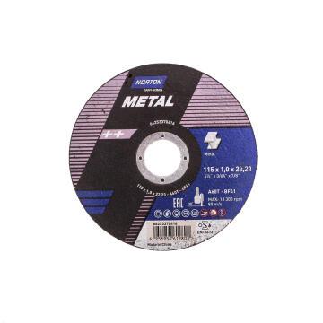 Cutting disc 115x1.6x22,2mm A46 S-Bf41 NORTON Metal/Inox