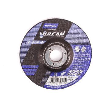 Cutting disc 125x6.4x22,2mm A30S-Bf27 VULCAN Met/ Inox
