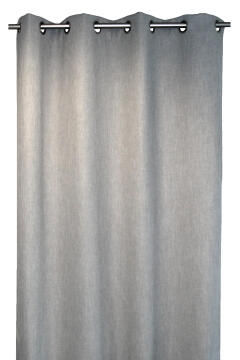 BEE CURTAIN PLEATED MOUSE GREY
