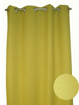 BEE CURTAIN PLEATED ANISE