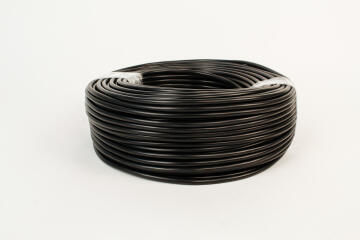 Cabtyre cable 2x1mm + earth black 100m