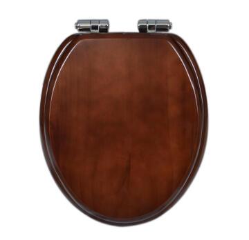 Toilet seat soft close pinewood Sensea Karmon