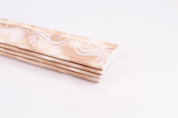 Cornice Brown Floral 4pc 2.5m Value Pack