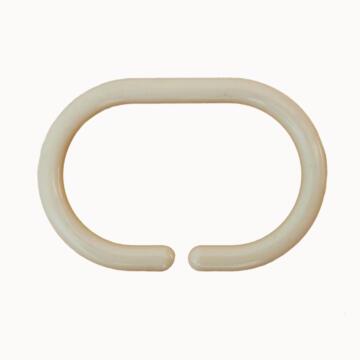 Shower Ringss plastic SENSEA amber 12 pieces