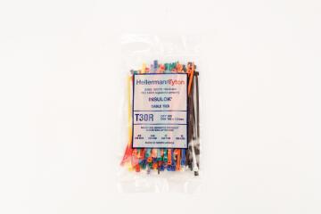 Cable tie 150x3.5mm HELLERMANNTYTON multiple colors x100