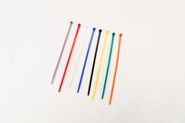 Cable tie 200x4.7mm HELLERMANNTYTON multiple colors x100