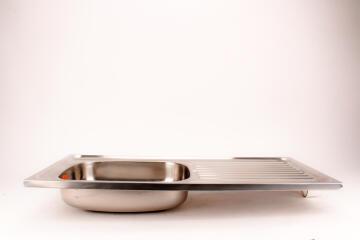 Kitchen sink 1sq bowl 1d s/o CAM ss 915cmx460cm SEB excl 40mm SC195/1