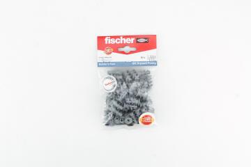 Cavity anchor & tool nylon GK BP FISCHER 50 pack