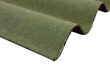 Bitumen Roof Sheet Corrugated 2m Green ONDULINE
