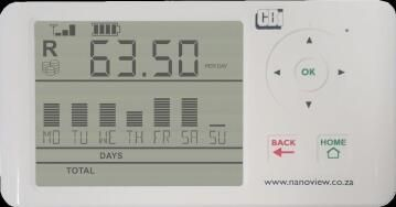 Electricity meter wired NANOVIEW
