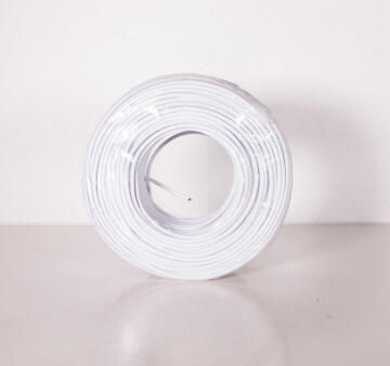Communication cable for alarm 4 core white 100m