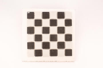 Mosaic Chessboard Black and White Slip Resistant 300x300mm