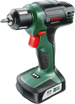 Cordless drill BOSCH Green EasyDrill set 1 bat Li 12V 1.5Ah