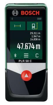 Laser Measure Bosch Plr 50C Bluetooth 50M