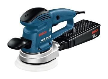 Eccentric sander BOSCH GEX 150 AC Professional 340W 150mm ( front handle and dust container excluded)