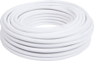 CABTYRE CABLE 2X1.5MM + E WHT 10M