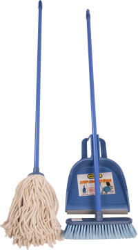 Broom,mob & dustpan ADDIS combination pack