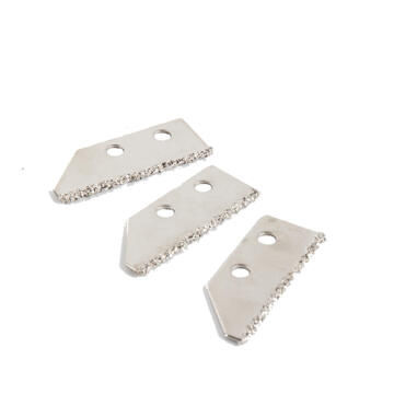 Grout remover blade DEXTER 3 pieces