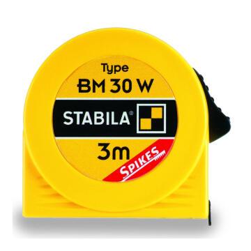Pocket tape measure 3m STABILA BM30 W