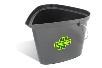 Builders bucket triangular