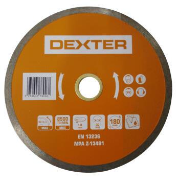Diamond disc DEXTER 180mm