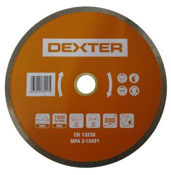 Diamond disc DEXTER 200mm
