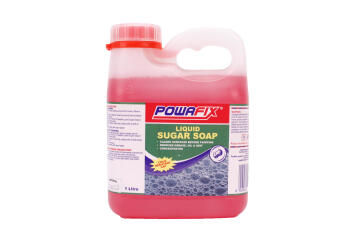 Heavy duty cleaner POWAFIX 1 litre sugar soap liquid concentrate