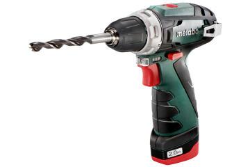 Cordless drill METABO Powermax BS18 10.8V 1 bat Li 2 Ah