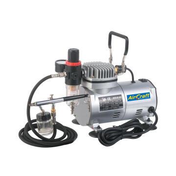 Compressor With Airbrush Kit + Hose Torkcraft Sg Comp04K