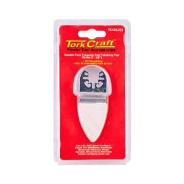 Base & arbor 35mm d/f felt polish pad TORKCRAFT
