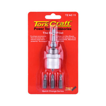 Adjust Depth Screwdriv Attach Tork Craft
