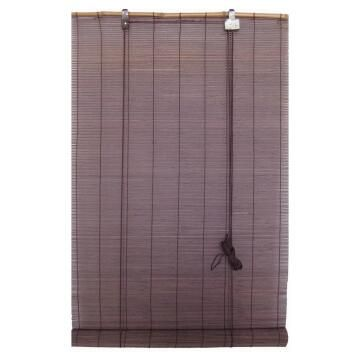 1st Price Roll Up Blind Bamboo Chocolate 120x180cm