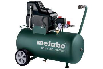 Air compressor METABO BASIC 250-50 W 50L Oil free