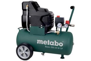 Air compressor METABO BASIC 250-24 W 24L oil free