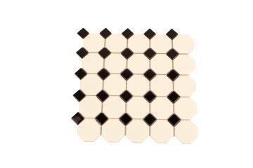 Mosaic Ceramic Victorian Hexagon 300X300