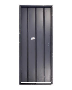 Service Door Steel with Frame (Prehung) 1mm Right Hand-Open In- 115 thick-w813xh2032mm
