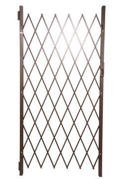 Saftidor security gate ref A 1500x2150mm bronze xpanda