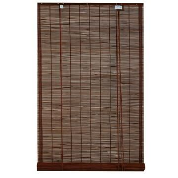 Roll Up Blind INSPIRE Bamboo Djibouti Chocolate 120x230cm
