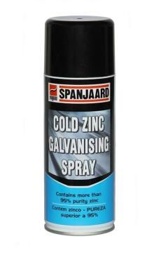 Cold zinc galvanize spray SPANJAARD 400Ml