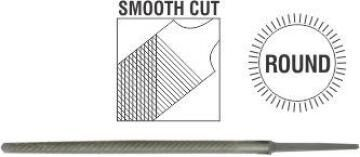 File AFILE round smooth 150mm