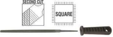 File AFILE square 2nd cut 150mm