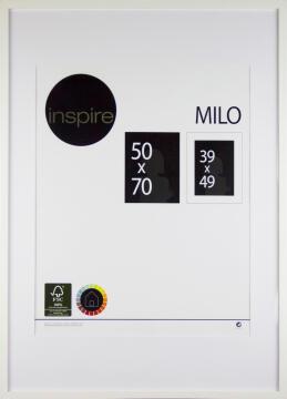 INSPIRE FRAME WHITE 50X70
